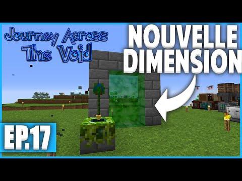 UN SAC A DOS TROP UTILE ! | Minecraft Moddé - Journey Across The Void | Ep# 17