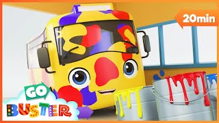 Go Buster Color Rap!   Educational Kids Rap Song   Baby Cartoons   Kids Videos   ABCs and 123s