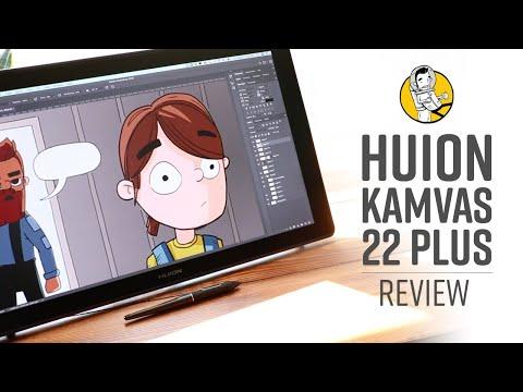 Huion Kamvas 22 Plus Review