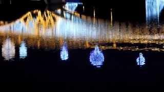 Круг света 2014: Царицыно - лазерное шоу, световые инсталяции