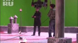 Alexander Rybak-Съёмки клипа к фильму чёрная молния