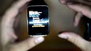 Samsung Gear S - SECRET / BOOT MENU installing new firmware