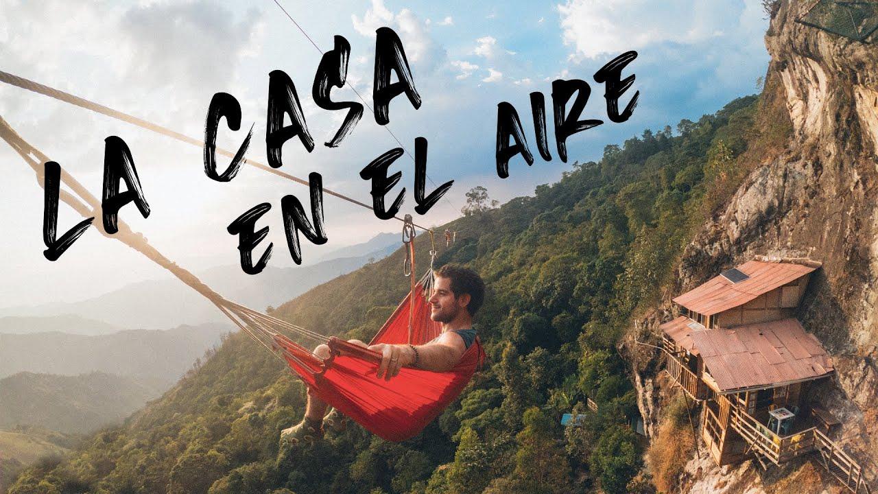 Llegué EN MOTO hasta una CASA EN EL AIRE de Antioquia, COLOMBIA 🏡🌤 Episodio 102 - Vuelta al Mundo
