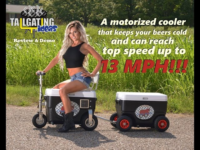 Cruzin' Cooler Review: 1000W Cooler - Up to 13 MPH