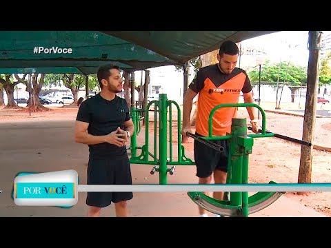 Por Você - Atividade Física: Exercícios ao ar livre 25/08/18