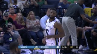 2nd Quarter, One Box Video: Memphis Grizzlies vs. Denver Nuggets