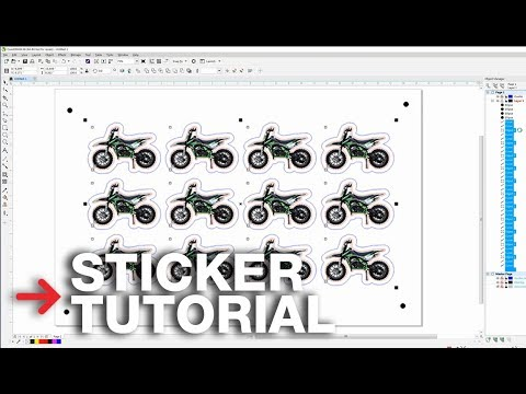 Laser Cutting Stickers Tutorial   Perforated Lines For Stickers