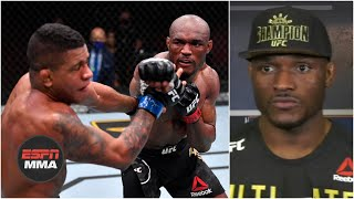 Kamaru Usman wants some respect after UFC 258 win | ESPN MMA