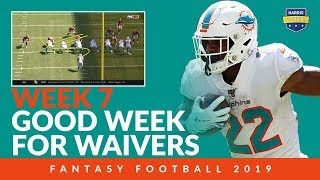 Good Week For Waiver Wire Fantasy Football 2019 - Week 7 Adds
