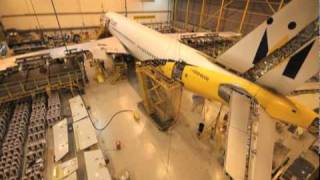 Monarch Timelapse Aircraft Maintenance Check - Airbus A300 at Monarch Aircraft Engineering ...