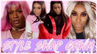 STYLE SWAP GRWM CHALLENGE with JACKIE AINA!♡