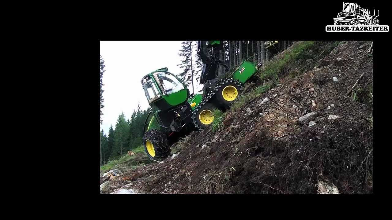 huber und tazreiter john deere harvester neu youtube. Black Bedroom Furniture Sets. Home Design Ideas