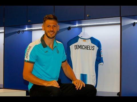 Martín Demichelis ja vesteix de blanc-i-blau!