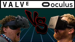 Oculus Rift VS HTC Vive - Dude Soup Podcast #34