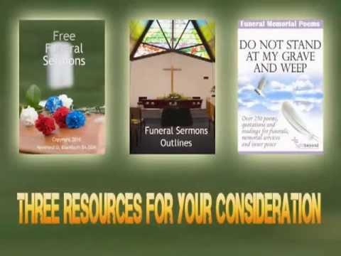 Two Free Funeral Sermons | Free Funeral Sermons