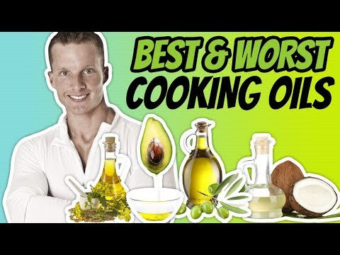 The Best Cooking Oil For High Heat (HEALTHIEST AND WORST COOKING OILS) | LiveLeanTV