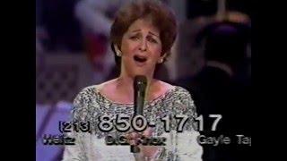 Gogi Grant--1983 March of Dime Telethon, Wayward Wind