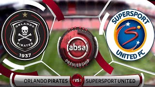 Absa Premiership | Orlando Pirates v SuperSport United | Highlights