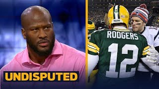James Harrison weighs in on the Rodgers vs Brady discussion | NFL | UNDISPUTED