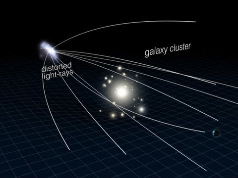 Caught in the Cosmic Web - Dark Matter Structure Revealed by Hubble Space Telescope