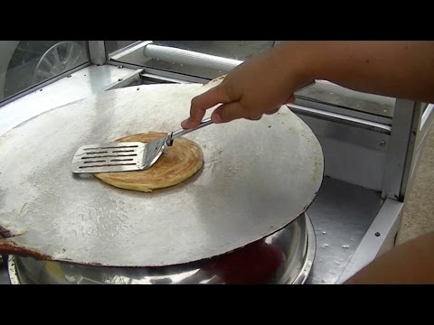 Jakarta Street Food 379 Middle East Salman Maryam Bread Roti Maryam Salman ...