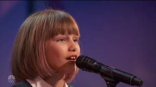 WOW! America's Got Talent-Grace Vander Waal 12 Years old...Miracles can happen! HD
