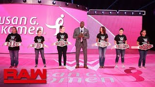 O'Neil introduces honorees from Susan G. Komen in fight against breast cancer: Raw, Oct. 23, 2018
