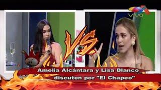 """¡Que rebú! Se armo entre Amelia Alcántara y Liza Blanco por """"El Chapeo"""""""