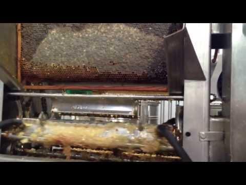 Apitec honey extracting line HD
