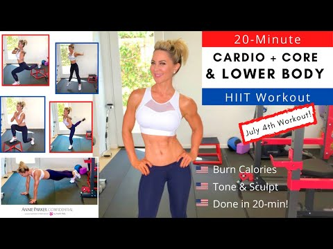 20-Min CARDIO & LOWER BODY HIIT Workout