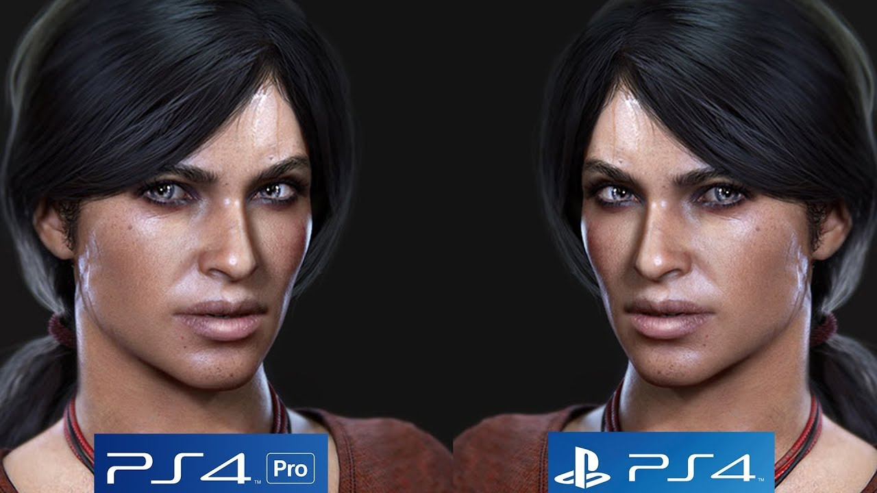 Uncharted The Lost Legacy Ps4 Vs Pro Graphics Comparison