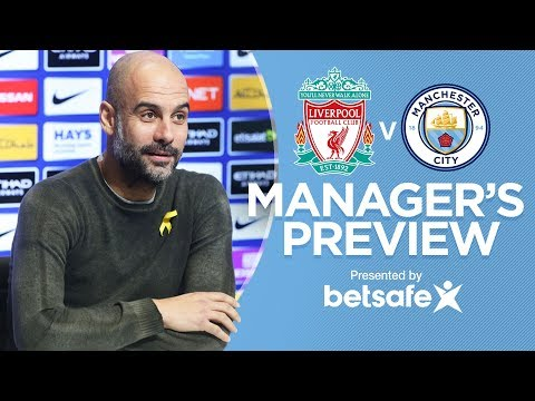 RECORDS ARE MADE TO BE BROKEN | Pep Pre-Match | Liverpool v City