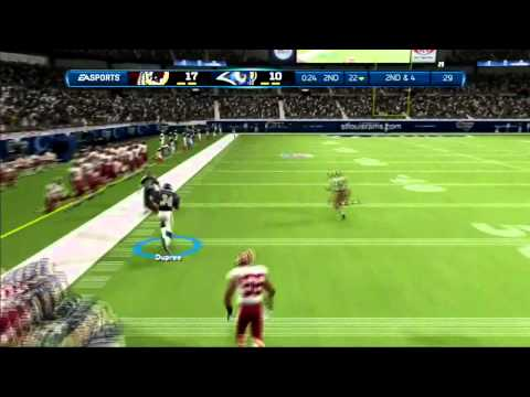Madden NFL 13: Connected Career Ft Marcus Dupree Ep 3 (Week 2 vs RGIII)