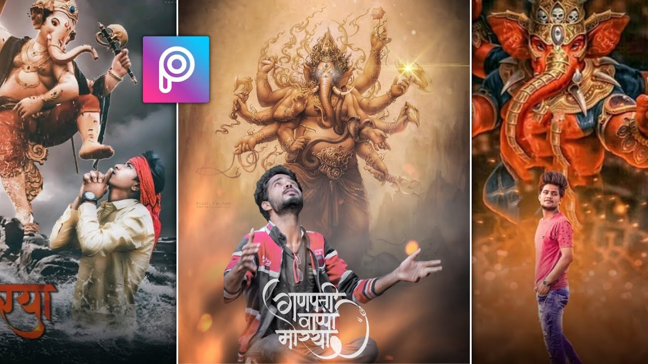 Picsart Amazing Concept Ganesh Chaturthi Special Editing Picsart Photo Editing Ac Edition Youtube