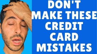 Top Travel Credit Card Mistakes | 5 Beginner Mistakes And How To Avoid Them