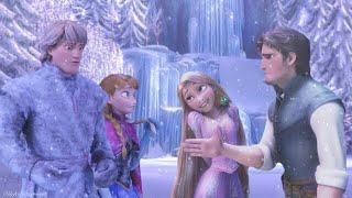 "Gambar cover Idina Menzel, Evan Rachel Wood - Show Yourself [From ""Frozen 2""/Rapunzel(Tangled) version]"