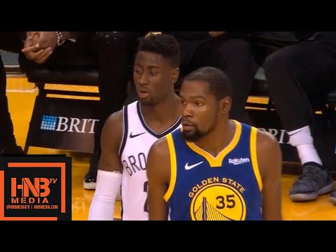 Golden State Warriors vs Brooklyn Nets 1st Half Highlights   11.10.2018, NBA Season
