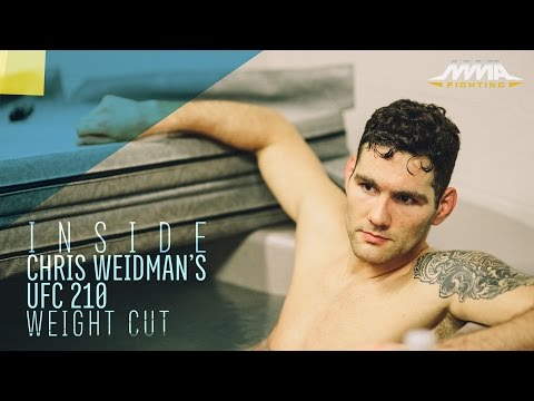 Inside Chris Weidman's Final UFC 210 Weight Cut - MMA Fighting