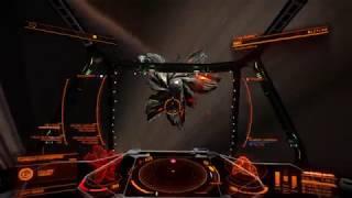 Elite Dangerous| Challenger vs Cyclops (Solo fight)