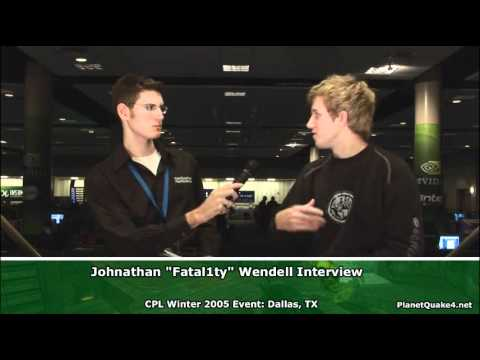 """Johnathan """"Fatal1ty"""" Wendel Interview"""