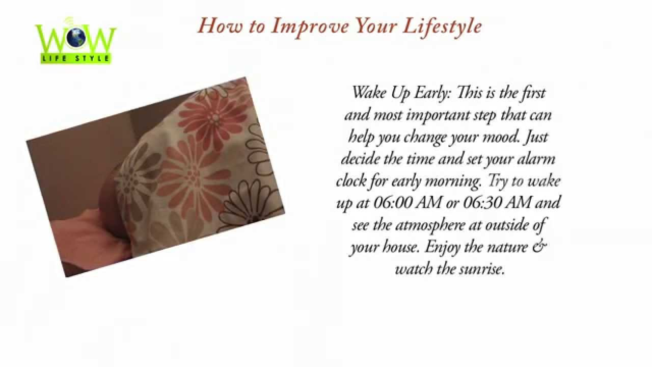 How to Improve Your Lifestyle