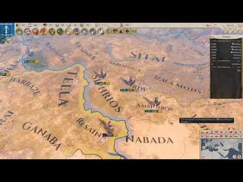 Imperator Rome: Seleucid Empire Let's Play EP 3/Diadochi War Begins