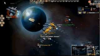 Dark Orbit Gameplay PVP Clan [ЕA™] Σlite Army EG4
