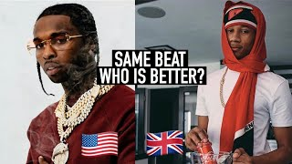 DRILL SONGS WITH THE SAME BEAT - WHO IS BETTER? (UK V US)