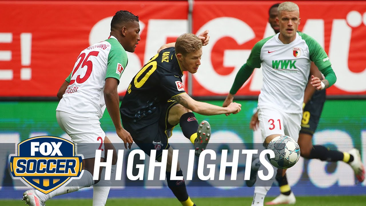 Köln, Augsburg save fireworks for final moments in 1-1 draw | 2020 Bundesliga Highlights