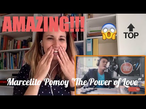 Marcelito Pomoy singing 'The Power of Love' Video Reaction