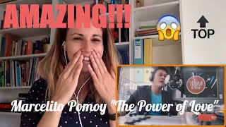 "Marcelito Pomoy singing ""The Power of Love"" Video Reaction"