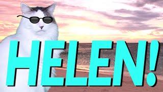 HAPPY BIRTHDAY HELEN! - EPIC CAT Happy Birthday Song