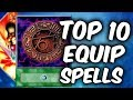 TOP 10 EQUIP SPELLS Cards of Yugioh TCG (Yu-Gi-Oh Top 10 List)