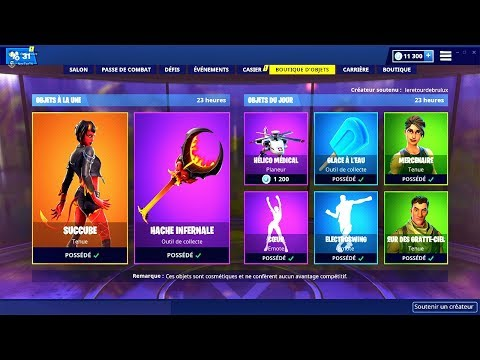 BOUTIQUE FORTNITE du 22 Mars 2019 ! ITEM SHOP March 22 2019 !